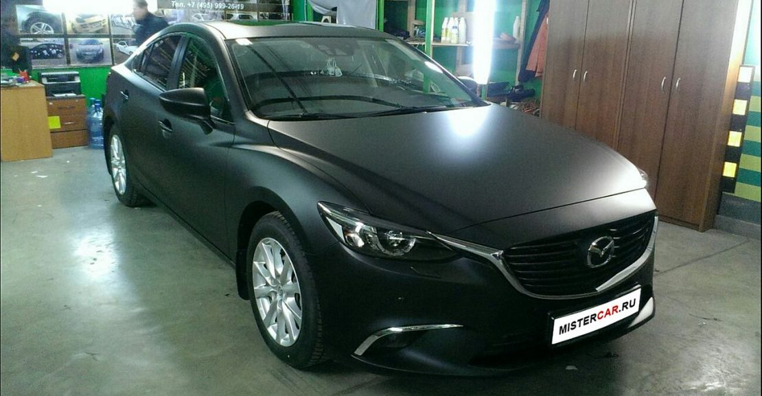 gallery mazda 6 black mat 12