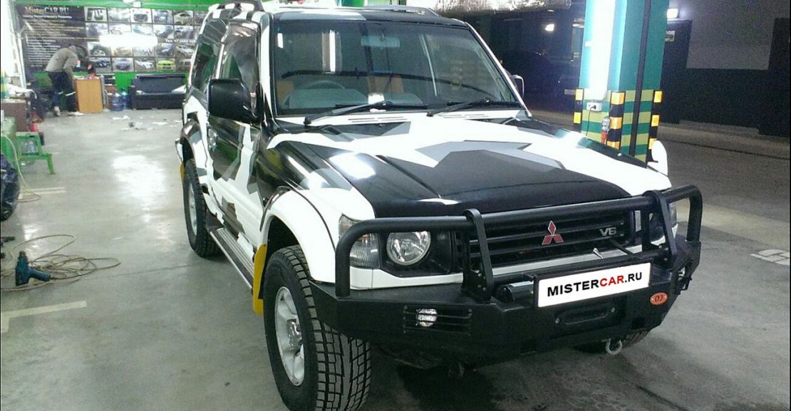 gallery mitsubishi pajero exclusive design 09