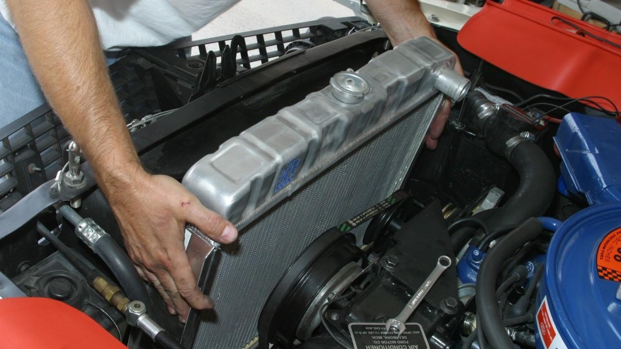 Ремонт системы охлаждения двигателя