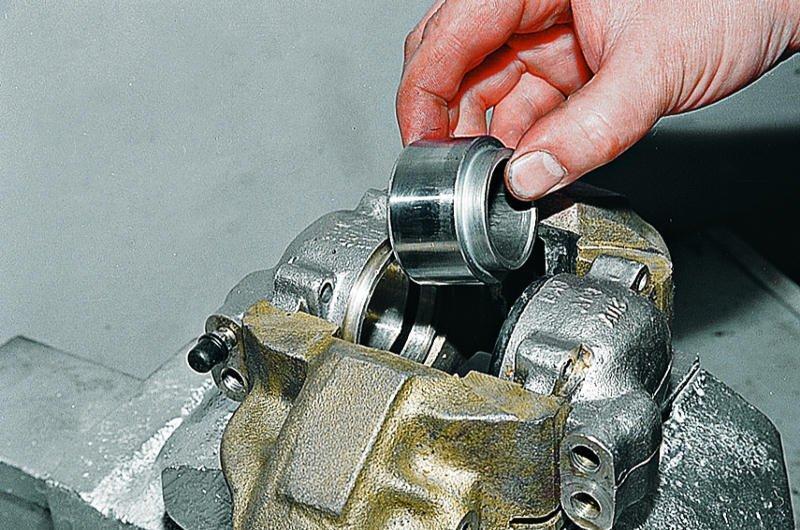 Ремонт и замена тормозных суппортов и цилиндров
