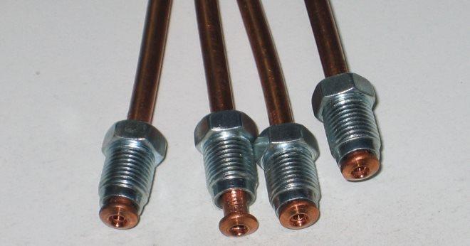 Изготовление (вальцовка) тормозных трубок